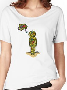 Hippy - Peace and Love Women's Relaxed Fit T-Shirt