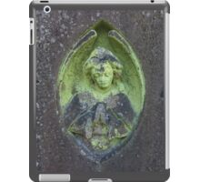 Grey Stone Angel iPad Case/Skin