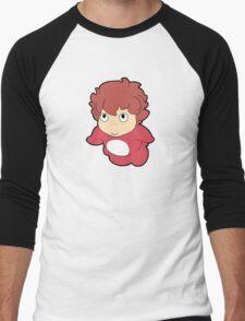 Studio Ghibli - Ponyo Men's Baseball ¾ T-Shirt