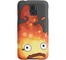 Studio Ghibli - Howl's Moving Castle - Calcifer Samsung Galaxy Case/Skin