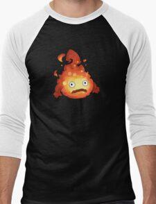 Studio Ghibli - Howl's Moving Castle - Calcifer Men's Baseball ¾ T-Shirt