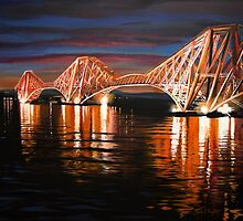 The Forth Bridge by Debbie Jew