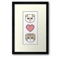 Meredith and Olivia Framed Print