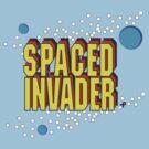 Space Invaders spoof - Spaced Invader by bleedart