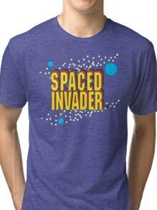 Space Invaders spoof - Spaced Invader Tri-blend T-Shirt