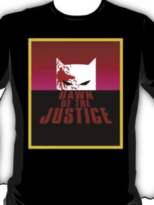 Dawn Of The Justice T-Shirt