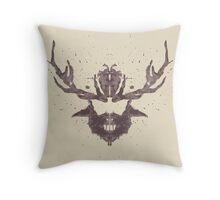 Hannibal Rorschach Test Throw Pillow