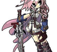 Final Fantasy XIII - Lightning by 57MEDIA