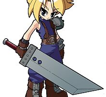 Final Fantasy VII - Cloud Strife by 57MEDIA