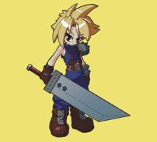 Final Fantasy VII - Cloud Strife One Piece - Short Sleeve