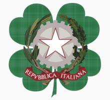 Irish Polish Family Heritage  Kids Tee