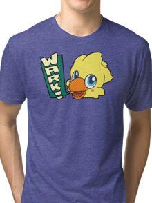 "Final Fantasy - Chocobo ""Wark!"" Tri-blend T-Shirt"