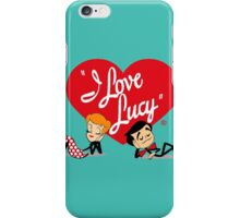I love Lucy iPhone Case/Skin