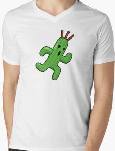 Final Fantasy - Cactuar Mens V-Neck T-Shirt