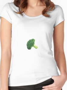 Broccoli. Women's Fitted Scoop T-Shirt