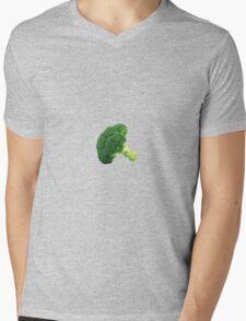 Broccoli. Mens V-Neck T-Shirt