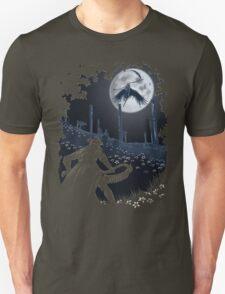 Tonight Gehrman joins the hunt. Unisex T-Shirt