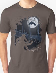 Tonight Gehrman joins the hunt. Unisex T-Shirt