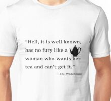 Tea with Wodehouse Unisex T-Shirt