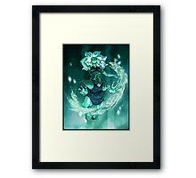 Malachite - Gem Glow Framed Print