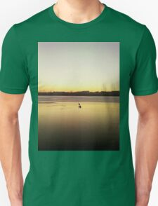 lonely swan Unisex T-Shirt
