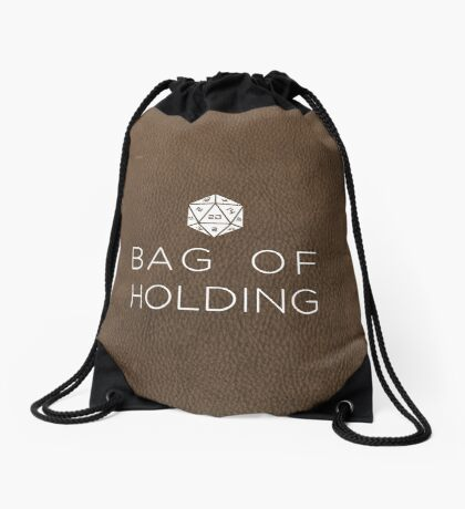 Bag of Holding-D20 Drawstring Bag