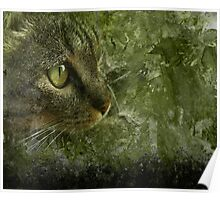 Moggy Goes Hunting Poster