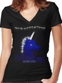 Star Lite Women's Fitted V-Neck T-Shirt
