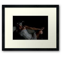 Black Swan- Dancers Framed Print