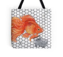 Attention Gold Fish Shoppers Tote Bag