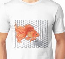 Attention Gold Fish Shoppers Unisex T-Shirt