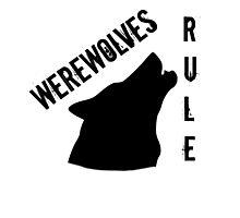 Werewolves Photographic Print