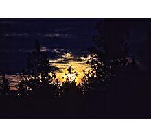 Moon Rise Photographic Print
