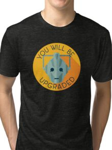Doctor Who Cybermen You Will Be Upgraded Tri-blend T-Shirt