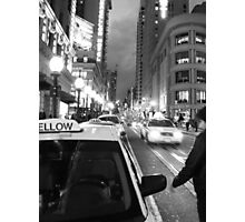 Union Square at Night- SFO Photographic Print