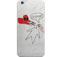 Deadpool's Doodle iPhone Case/Skin
