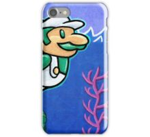 Luigi Swimmin' iPhone Case/Skin