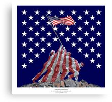 The Empire strikes back - Iwo Jima Canvas Print