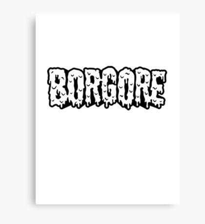 BORGORE LOGO Canvas Print