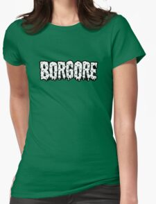 BORGORE LOGO Womens Fitted T-Shirt