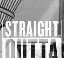 Traight outta stupid town Sticker