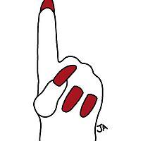 Foam Finger by jenaardell