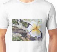 Plumeria rubra with Lena Unisex T-Shirt