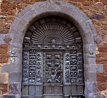 Medieval Door by Charmiene Maxwell-batten