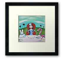 Tea and patience Framed Print