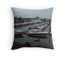 Quietly waiting... Throw Pillow