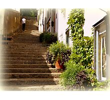 Steep Steps Photographic Print