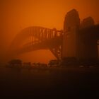 Dust Storm, Sydney Harbour Bridge by Paul Foley