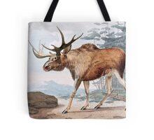 Bull Moose Vintage Drawing Tote Bag