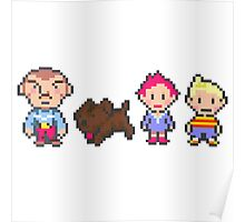 Earthbound Mother 3 Print Poster